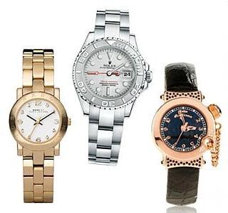 Ceasuri pentru femei marca Marc Jacobs, Rolex, John Galliano, Foto: springsummerfashiontrends.blogspot.ro