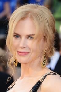 Coafura eleganta la Nicole Kidman, Foto: modelatucabello.blogspot.ro