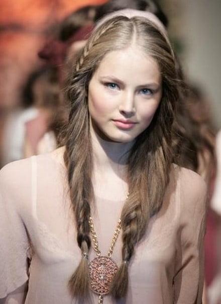 Coafura eleganta la moda in Rusia in anul 2013, Foto: lacefurandleather.blogspot.com