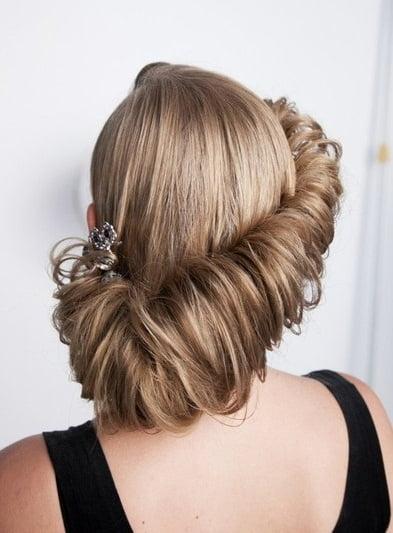 Coafura eleganta pentru femei, Foto: vk.com