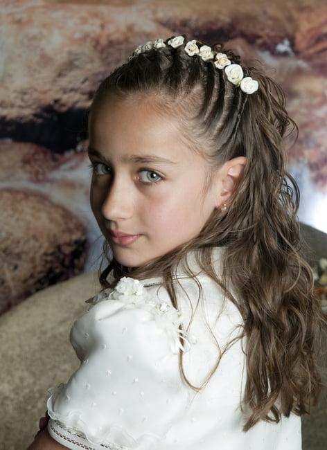 Coafura pentru fetite cu varsta de 5-7 ani , Foto: modelatucabello.blogspot.ro
