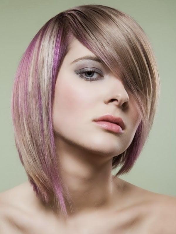 Coafura trendy cu suvite de par roz, Foto: modelatucabello.blogspot.ro