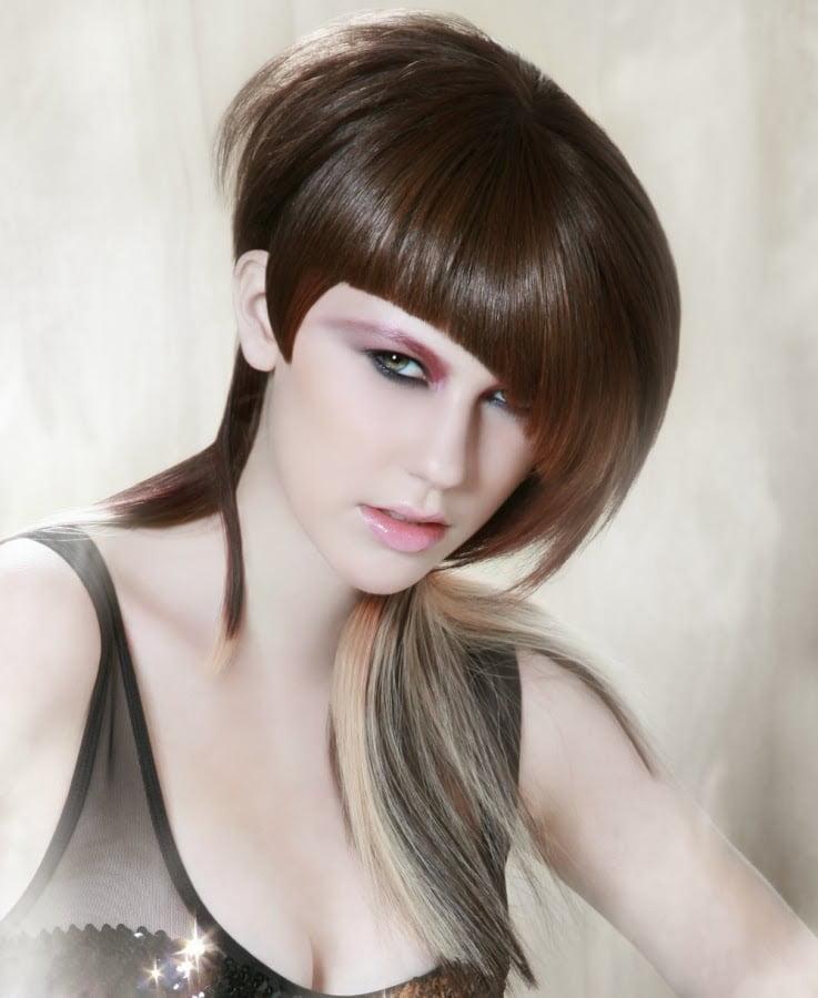 Coafura trendy eleganta pentru femei, Foto: modelatucabello.blogspot.ro