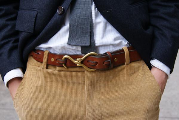 Curea in stil casual pentru barbati, Foto: why-youmad.com