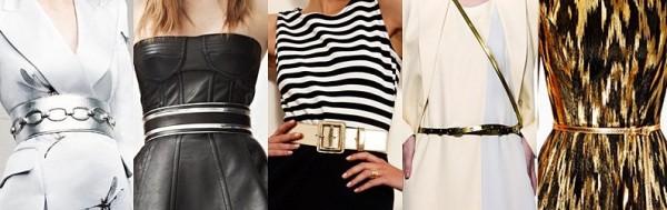 Curele la moda in anul 2013, marca Alexander McQueen, Balmain, St. John, Emporio Armani, Michael Kors, Foto: springsummerfashiontrends.blogspot.ro