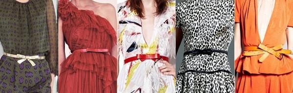 Curele pentru femei marca Giambattista Valli, Marchesa, Prabal Gurung, Valentino, Viktor & Rolf, Foto: springsummerfashiontrends.blogspot.ro