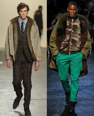Geci din colectia designerilor de moda Billy Reid, Jean-Paul Gaultier, Foto: fallwinterfashiontrends.com