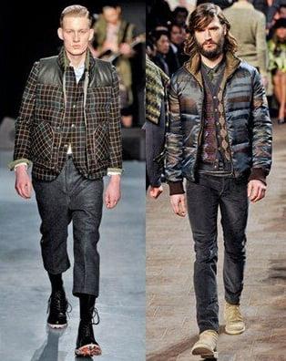Geci la moda in toamna-iarna 2013-2014, marca Miharayasuhiro, Missoni, Foto: fallwinterfashiontrends.com