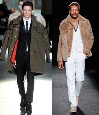 Geci pentru barbati, marca D Squared, Martin Margiela, Foto: fallwinterfashiontrends.com