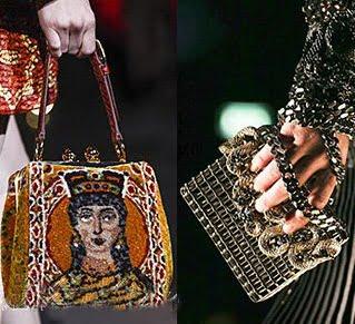 Genti Dolce & Gabbana si Roberto Cavalli, Foto: fallwinterfashiontrends.com