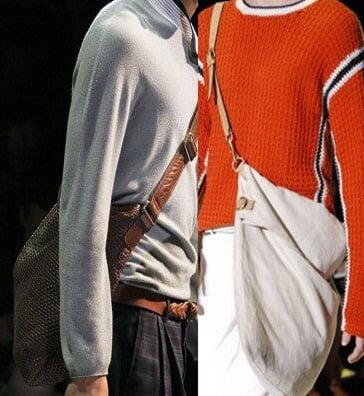 Genti pentru barbati marca Giorgio Armani, Gucci, Foto: springsummerfashiontrends.com