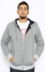Hanorac in gri si alb, Foto: streetweardeals.com