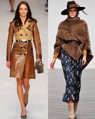 Imbracaminte exterioara pentru femei la moda in iarna 2013-2014, creatii Burberry Prorsum, Issa, Foto: fallwinterfashiontrends.com