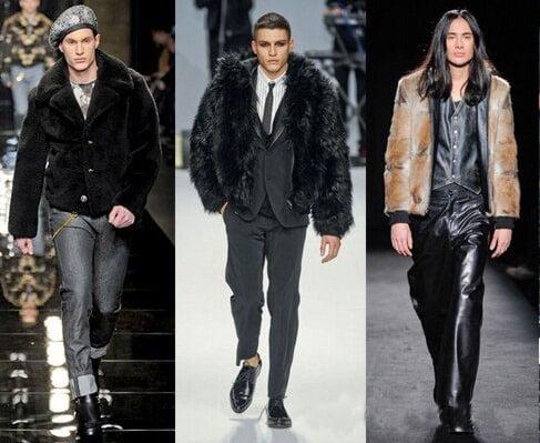 Jachete de iarna marca Versace, Frankie Morello, Martin Margiela, Foto: fallwinterfashiontrends.com