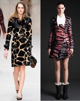 Jachete la moda in 2013-2014, marca Burberry Prorsum, McQ Alexander McQueena, Foto: fallwinterfashiontrends.com