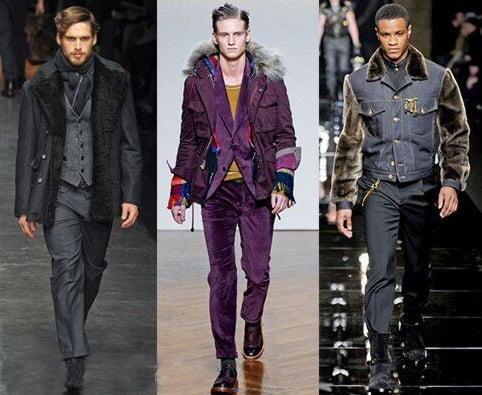 Jachete pentru barbati, colectii ale designerilor Dolce & Gabbana, Daniele Alessandrini, Versace, Foto: fallwinterfashiontrends.com