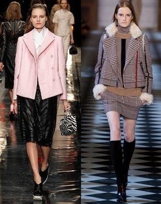 Jachete pentru femei la moda in 2013-2014, marca Carven, Tommy Hilfiger, Foto: fallwinterfashiontrends.com