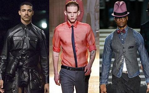 Moda in toamna-iarna anului 2013-2014, marca Givenchy, Lanvin, Dsquared2, Foto: fallwinterfashiontrends.com