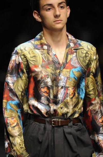 Model de camasa cu imprimeu la moda in 2013-2014, Foto: thebestfashionblog.com