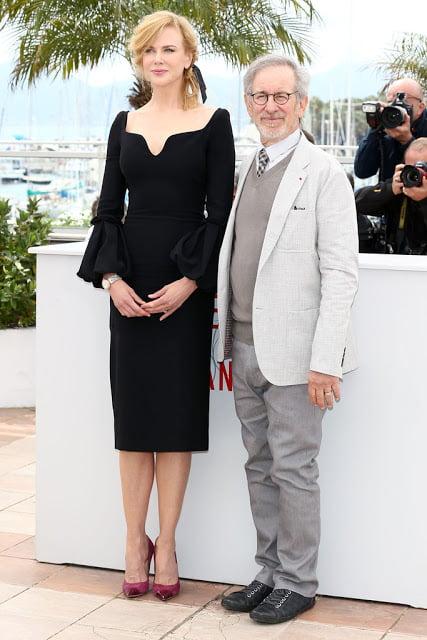 Nicole Kidman in rochie Alexander McQueen, pantofi Jimmy Choo si cu ceas Omega, Foto: vivanorada.blogspot.ro