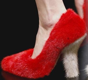 Pantofi creatie Céline, Foto: shoerazzi.com