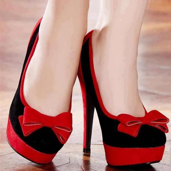 Pantofi cu fundita, Foto: pixday.ir