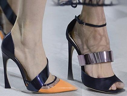 Pantofi pentru femei, colectia Christian Dior, Foto: shoerazzi.com