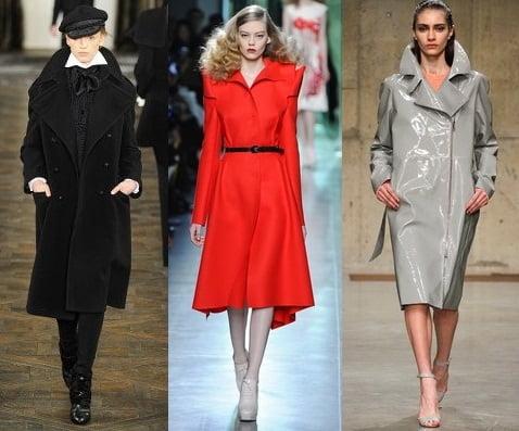 Pardesie si paltoane pentru femei, creatii Ralph Lauren, Bottega Veneta, Richard Nicoll, Foto: fallwinterfashiontrends.com
