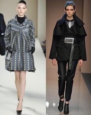 Pardesie si paltoane pentru femei, creatii Temperley London, Gianfranco Ferre, Foto: fallwinterfashiontrends.com