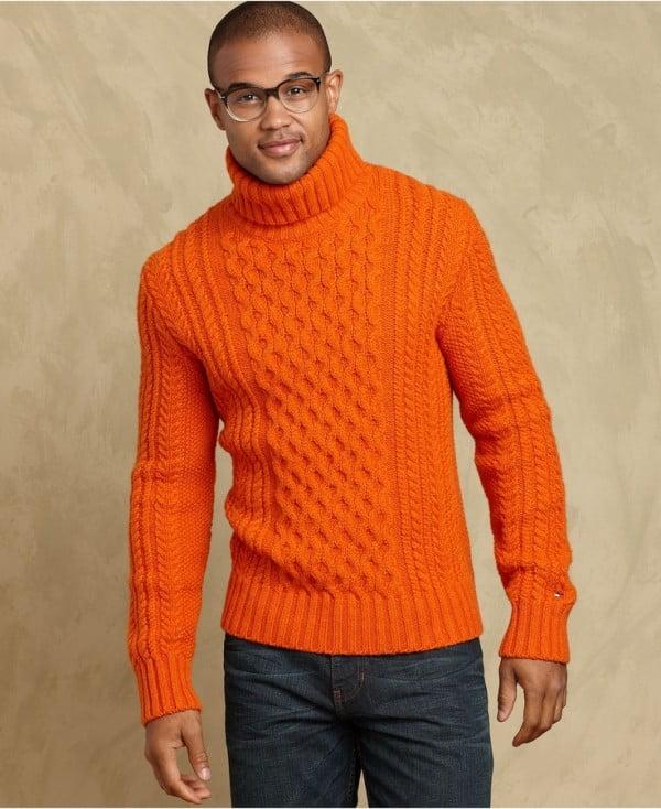 Pulover pentru barbati cu model tricotat, Foto: thebestfashionblog.com