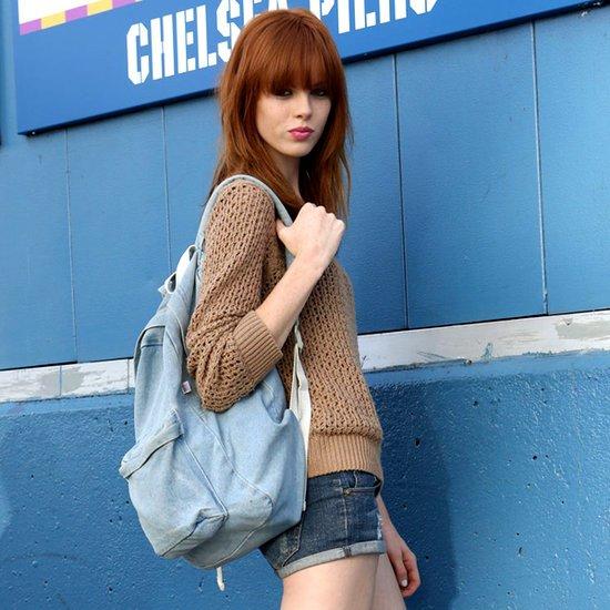 Rucsac la moda in anul 2013, Foto: fabsugar.com