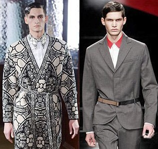 Tendintele modei pentru barbati in 2013-2014, colectii Alexander McQueen, Iceberg, Foto: fallwinterfashiontrends.com