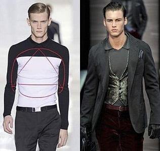 Tricouri moderne pentru barbati, creatii uimitoare Dior Homme, Giorgio Armani, Foto: fallwinterfashiontrends.com