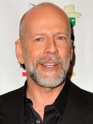 Tunsoare scurta la actorul Bruce Willis, Foto: modelatucabello.blogspot.ro