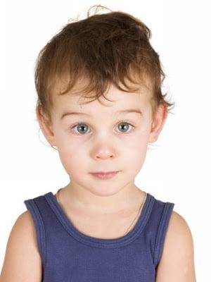 Tunsoare simpla pentru copii cu parul fin ,Foto: modelatucabello.blogspot.ro