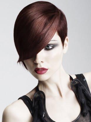 Coafura eleganta pentru par scurt roscat, Foto: newcool-hairstyles.net