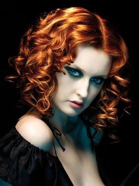 Coafura pentru par roscat la moda in 2014, Foto: newcool-hairstyles.net