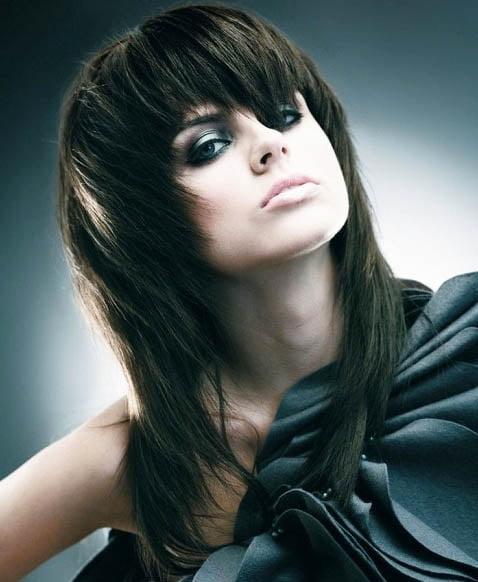Coafura trendy eleganta pentru Anul Nou, Foto: hairstylese.com