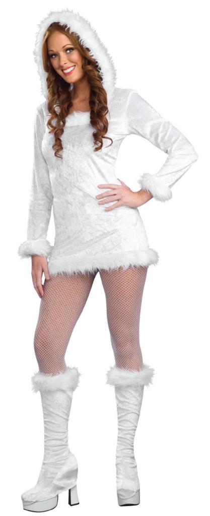 Costum alb pentru petrecerea de Craciun, Foto: onlifezone.com