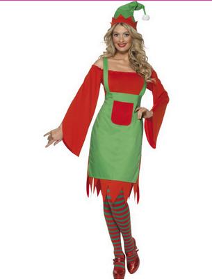 Costum de Elf pentru Craciun, Foto: karneval-megastore.de