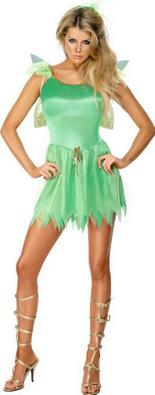 Costum verde de spiridus pentru seara de Craciun, Foto: karneval-megastore.de