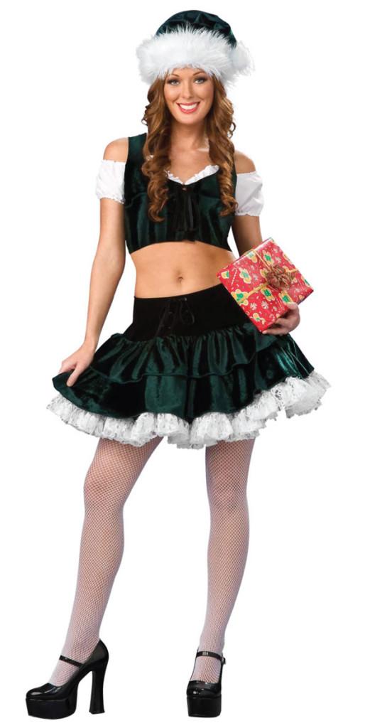 Costum verde-inchis de Craciunita, Foto: onlifezone.com