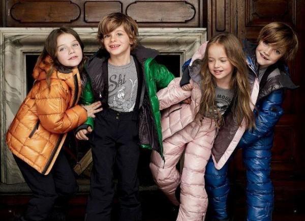 Imbracaminte de iarna pentru copii, marca Dolce & Gabbana, Foto: fun-yari.blogspot.ro