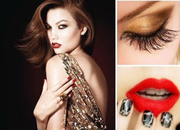 Machiaj pentru femei pentru seara de Revelion, Foto: fashiondivadesign.com