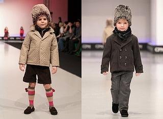 Moda la copii mici in iarna anului, Foto: arab47.com
