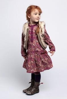 Tinuta pentru fetita in anotimpul de iarna, Foto: arab47.com