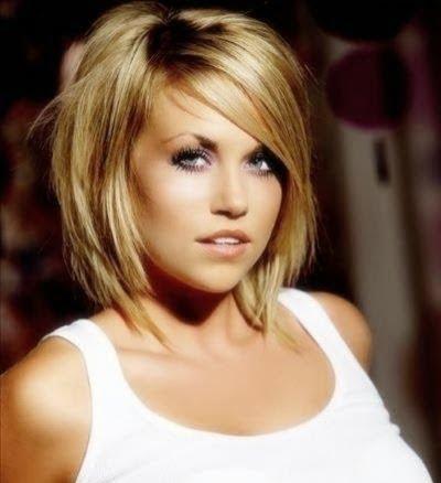 Tunsoare bob eleganta pentru femei cu parul blond, Foto: modelatucabello.blogspot.ro
