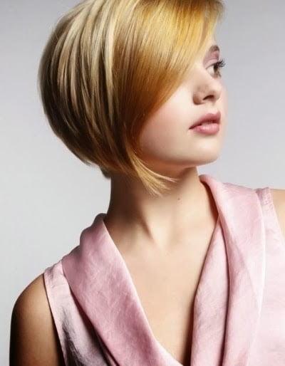 Tunsoare bob pentru femei blonde, Foto: modelatucabello.blogspot.ro