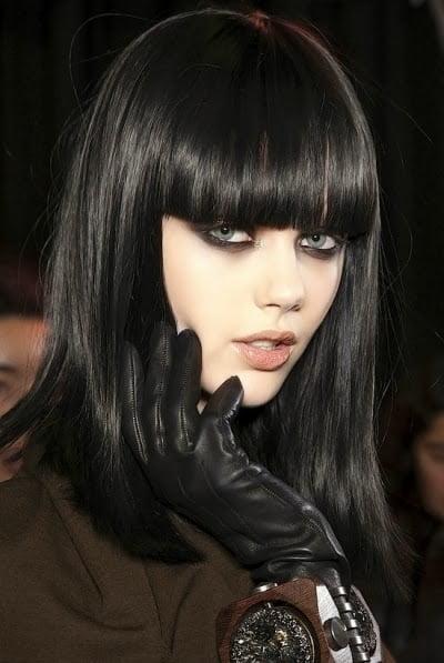Tunsoare bob pentru par brunet, Foto: modelatucabello.blogspot.ro