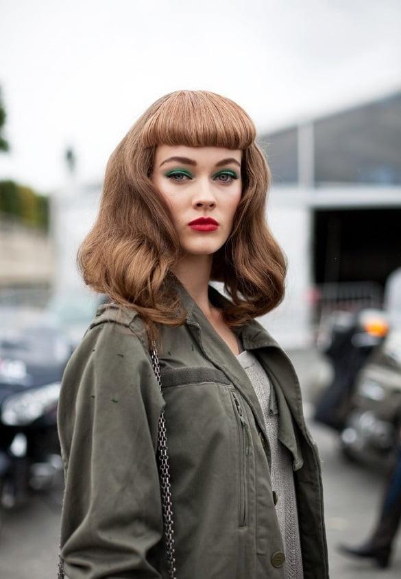 Coafura Barbie cu breton, Foto: thebestfashionblog.com